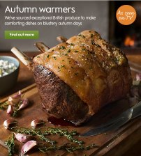 Waitrose Autumn campaign
