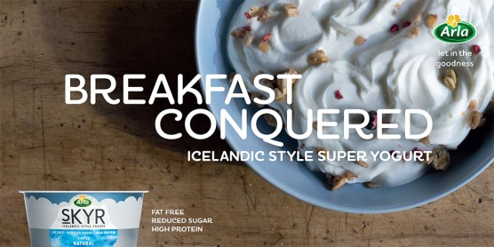 Skyr national campaign